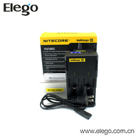 2013 New Product 18650 18350 Battery Double Charger Nitecore i2 Wall Charger