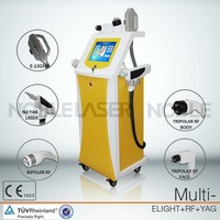 mutifunctional OEM 4 s system elight ipl rf laser for salon/spa/clinical use