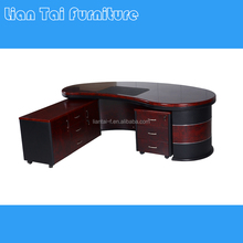 Classic curved MDF office table design