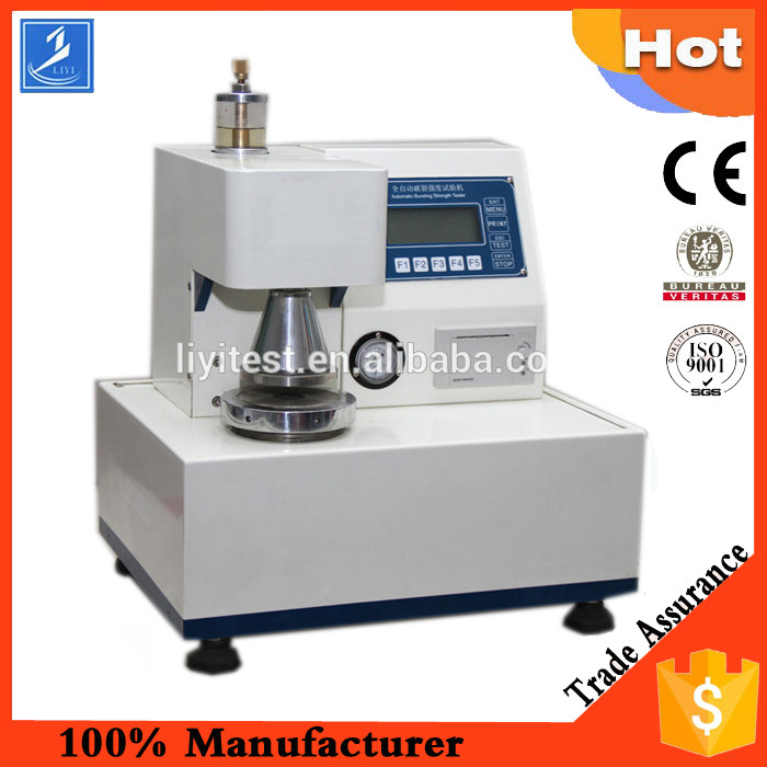 Fully Automatic Bursting Strength Test Instrument