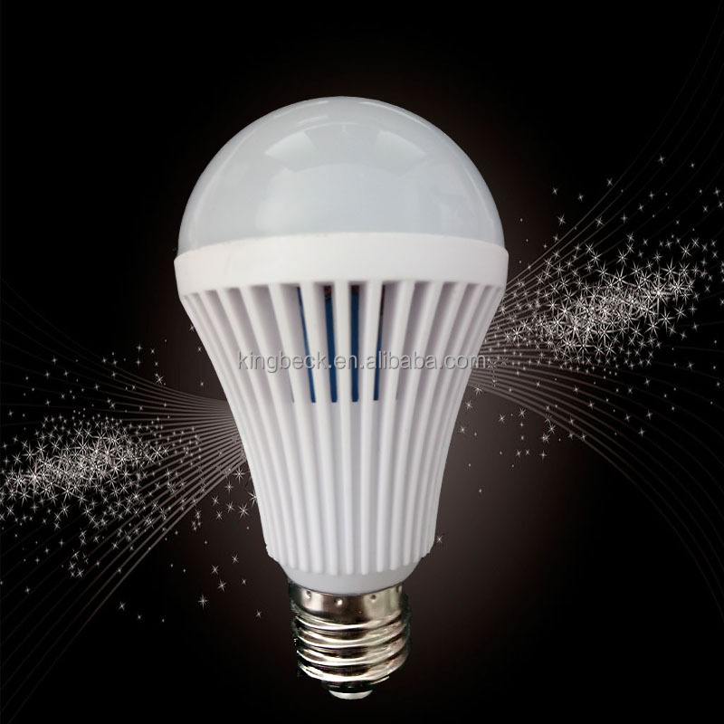 New Led Intelligent Light Emergency Bulb 5w 7w 12w Led Emergency Rechargeable Battery Lights E27