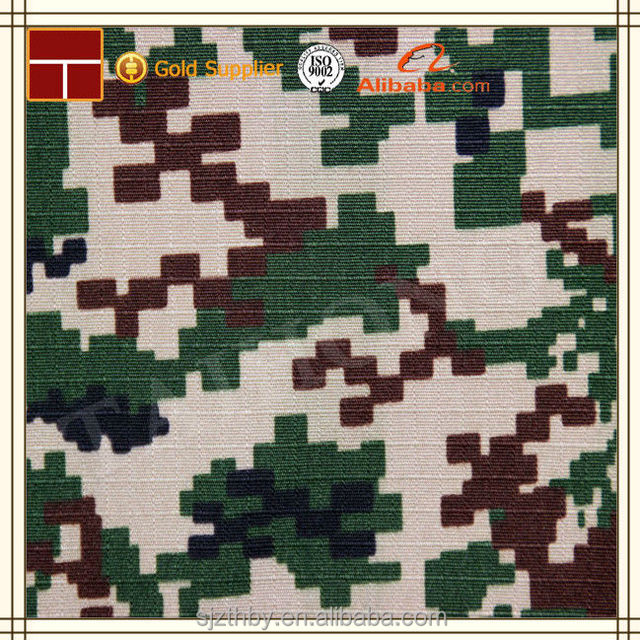 ripstop polyester cotton cheap military pink camouflage fabric