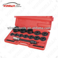 WINMAX 17 PCS MASTER FRONT WHEEL DRIVE BEARING SERVICE KIT UNDER CAR TOOL WT04039