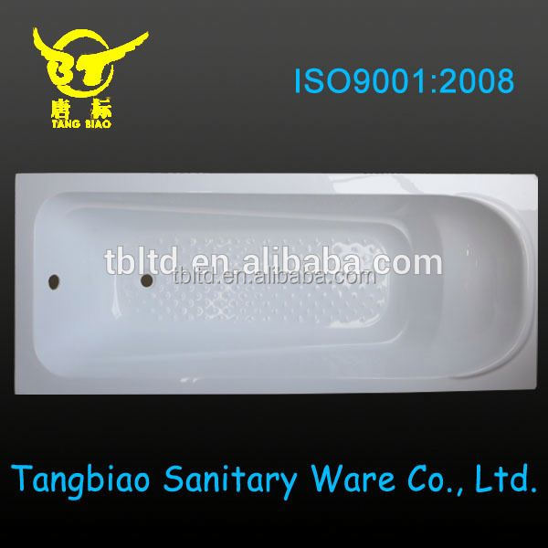 Tangbiao High quality cheap Fiber-glass cheap wooden bathtub outdoor
