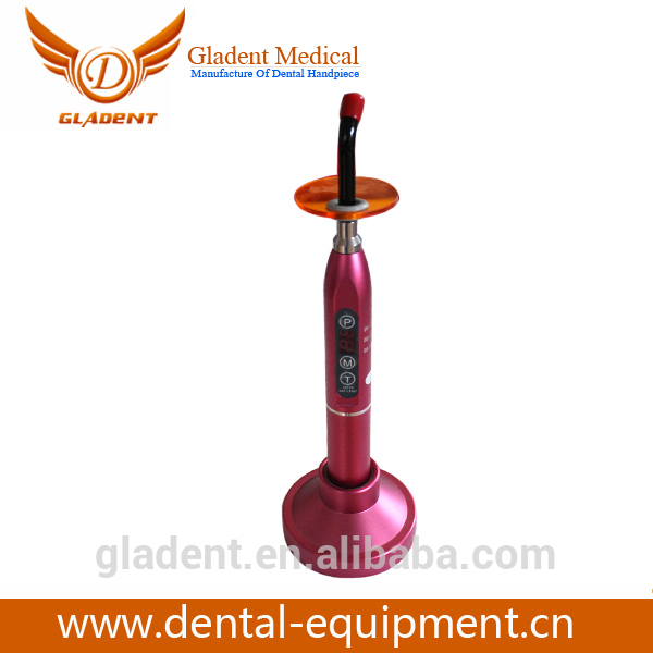 Foshan Gladent Cheap Automatic Standby Curing Light Lamp wap wireless dental curing light