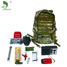 High quality portable medical emergency backpack survival first aid kit