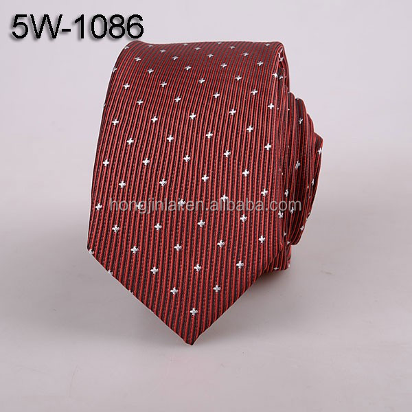 Polyester woven wine Micro fiber mens Cheap ties online 5W1086