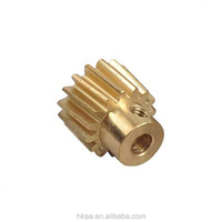 China Low Price Custom Precision Brass Spur Gear Manufacturer