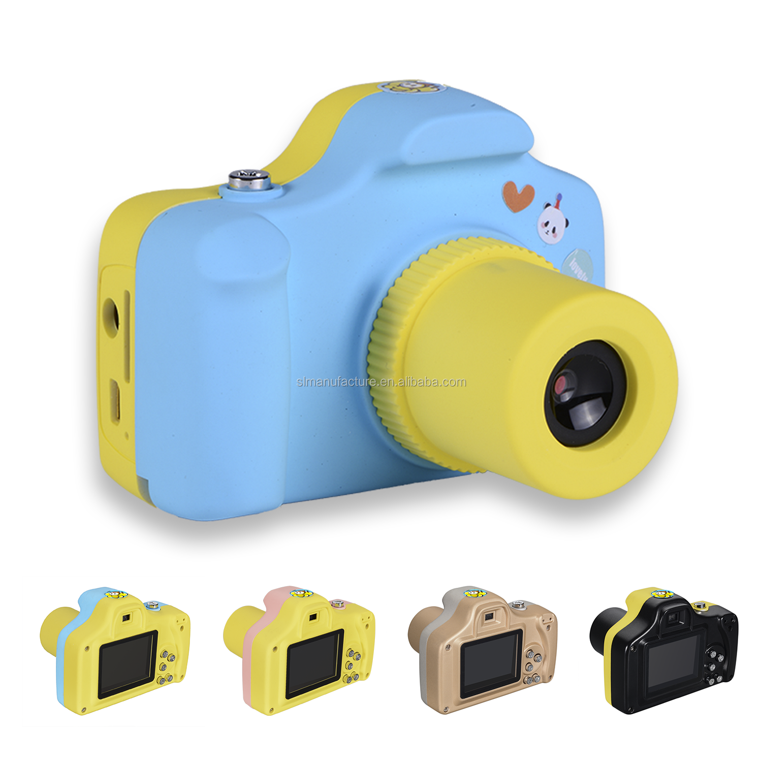 2018 Best Gift easily control Action Digital Camera for <strong>Kids</strong>