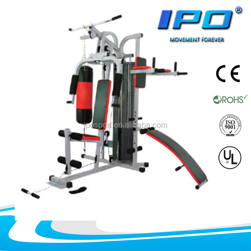 Weight Strength Multi Station Functional Gym Equipment
