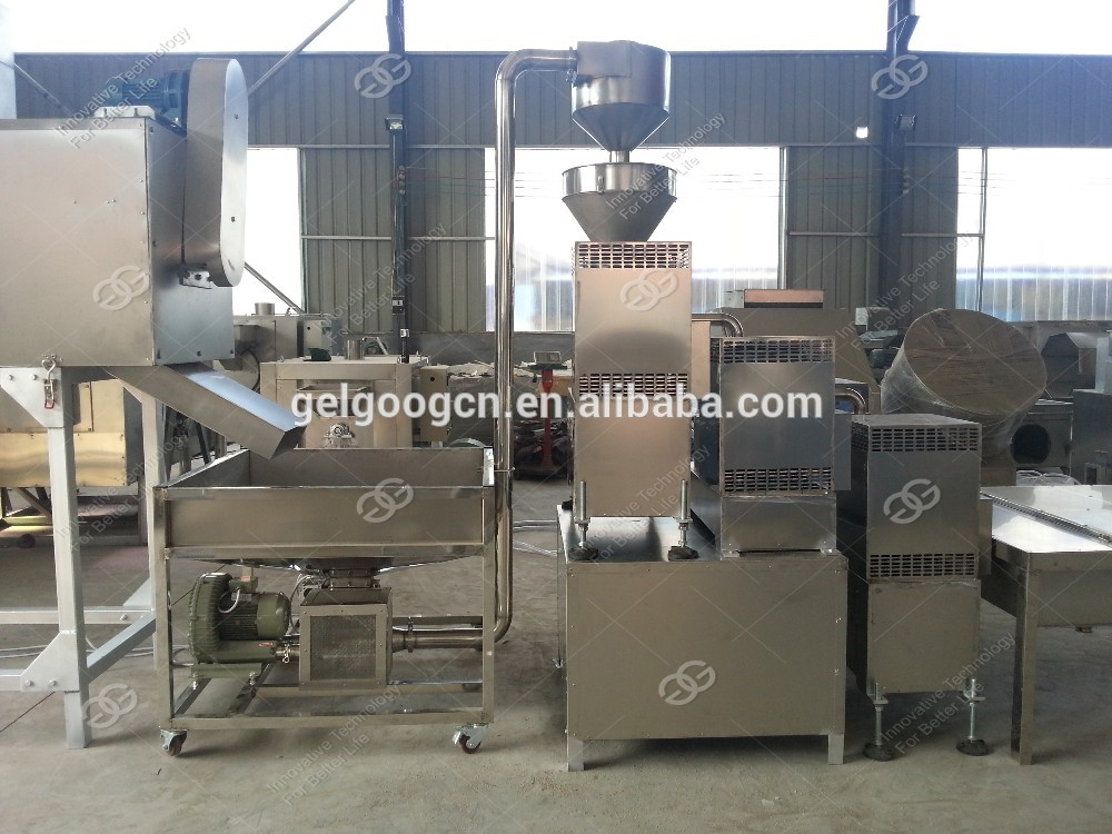 Factory Price Small Scale Hummus Nuts Grinder Sesame Seeds Groundnut Grinding Making Machine Peanut Butter Production Equipment