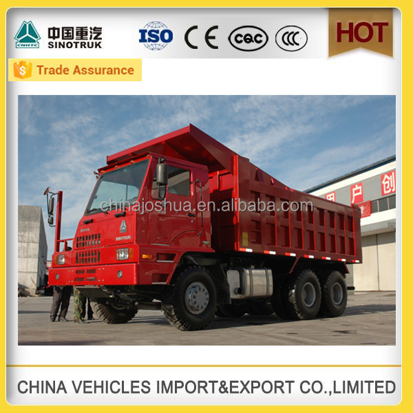 Factory hot sale mine king tipper Dump trucks auto parts truck