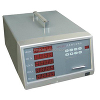 HPC501 Portable petrol and diesel car exhaust gas analyzer vehicle emission testing equipment