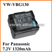 For Panasonic ge power lipo battery VW-VBG130