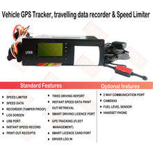 vehicle USB gps tracker with ID card recorder