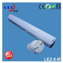 CE/REACH/ROHS approved t8 led 4 feet leds lighting tube lamp cover