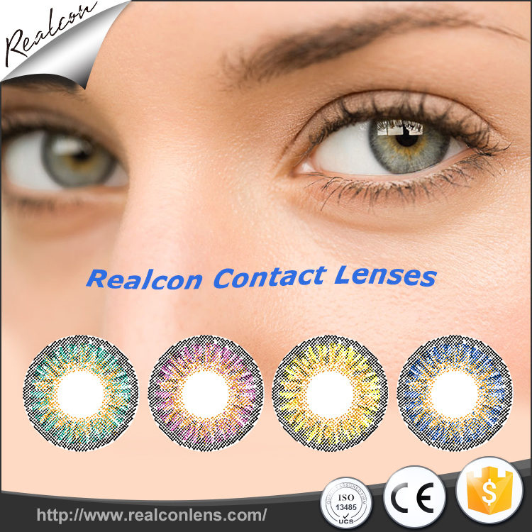 Wholesale factory directly big circle eye lens baby doll eye contacts cheap cosplay color contact lenses
