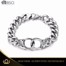 Longqueen Best-selling Classic Design Stainless Steel Bracelet 1 Gram Gold Jewellery