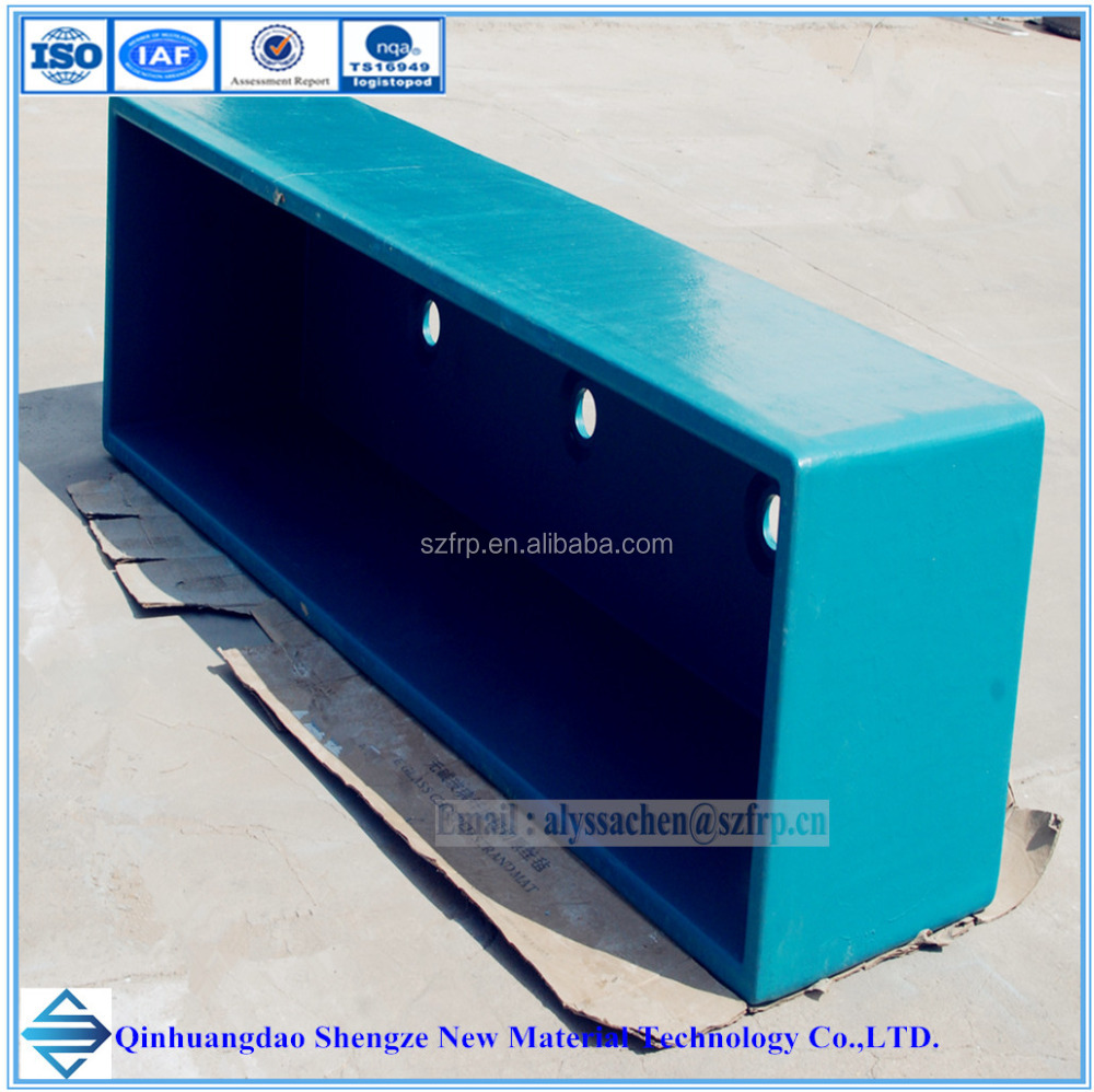 Fiberglass tank for aquaculture frp fish tank frp reaction for Aquaculture fish tanks