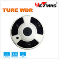 Full HD 2 megapixel TR-IP20HD210 1.8mm Fisheye Lens Real WDR P2P 170 degree lens angle Fisheye IP Camera