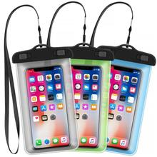 Water proof cell phone bag PVC waterproof phone case for iphone X Xs Xr mobile phone bags cases