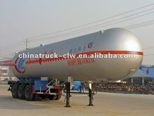 clw 3 axels 56M3 LPG semitrailer for hot sales