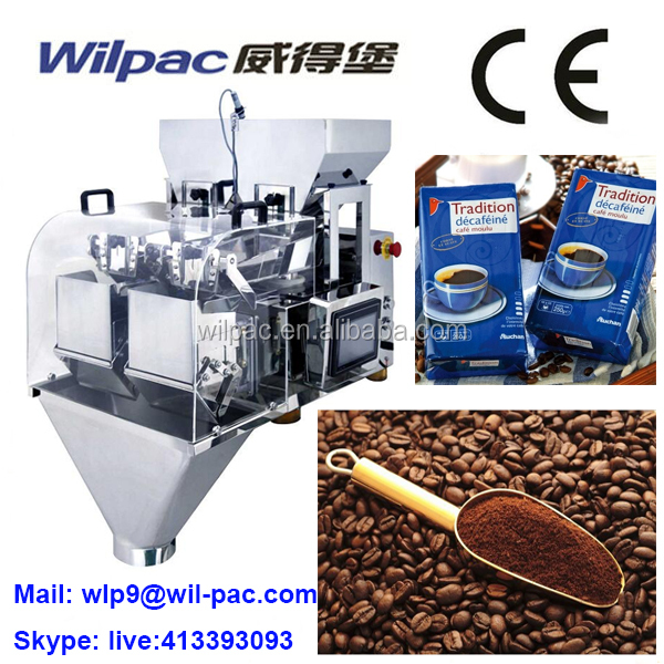 Hot ! Coffee Powder Vacuum Bag Auto Linear Check Weigher