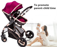 CE approved European standard baby trolley 3 in 1 baby pushchair pram foldable baby stroller wholesale