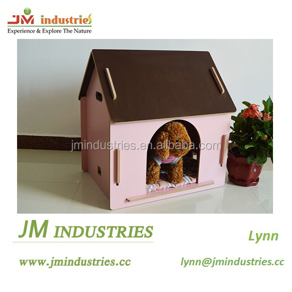 Cheap wooden decorative dog houses