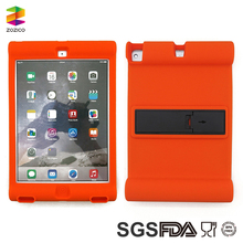 New Design For Ipad 9.7 Inch 2017 Soft Silicone Case Cover with Back Stand Holder
