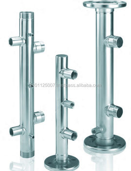 Manifolds for water booster units