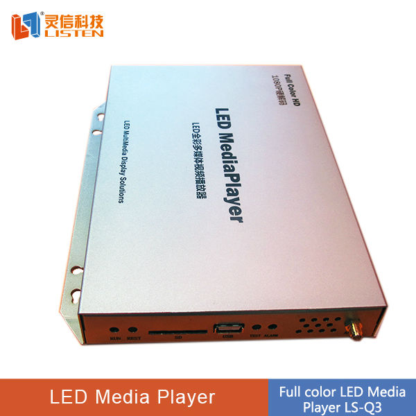 led sign/led panel/led video billboard video editing software