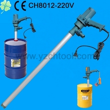 2014 the most popular 205L drum AC oil transfer pump/electric oil barrel pump CH8012