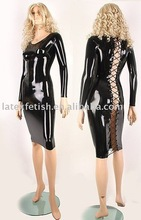 latex dress 100% nature latex latex dress latex fashion dree for women latex evening dress latex sexy dress hot latex dress