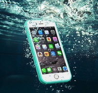 Shenzhen wholesale waterproof case Ultra thin transparent phone accessories cheap silicon case for iphone 6 plus