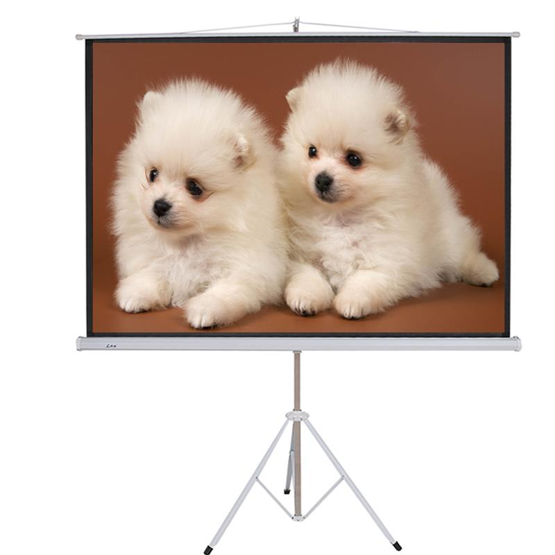 high quality projector screen projection screen with stand outdoor portable movie screen