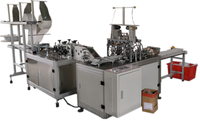 Full Automatic No.-wove Disposable Five Lavers Face Mask Making Machine