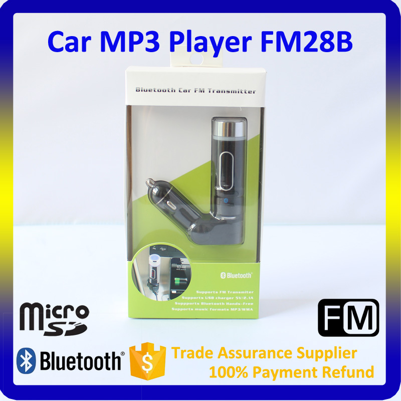 MP3 Player Car FM Transmitter with Bluetooth Car Mp3 FM Modulator