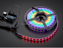 5M Magic Strip Light WS2812B 5050 RGB SMD WS2811 IC (IP67 Silicon tube) Magic LED Strip Light