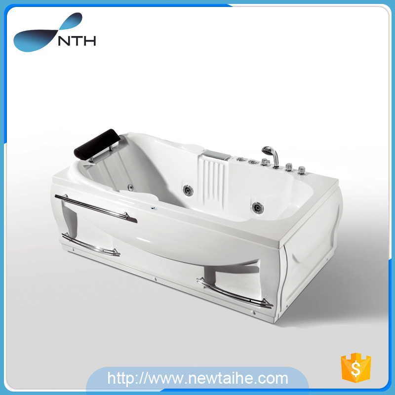 NTH best price white massage chinese outdoor soaking 1 person hot tub