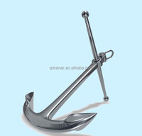 black and stainless Admiralty Anchor