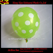 Inflatable Polka Dot Latex Balloons,Halloween ballons Latex Decoration