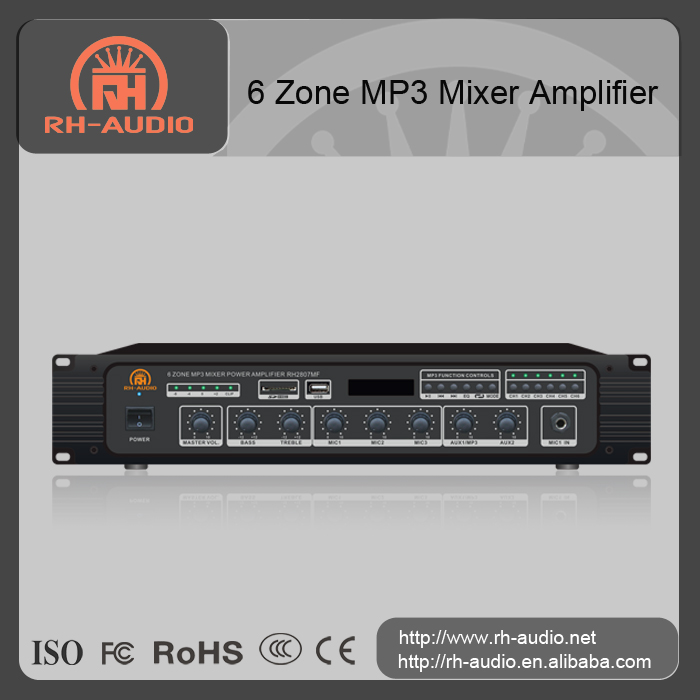 RH-AUDIO high voltage operational amplifier for voice announcement system