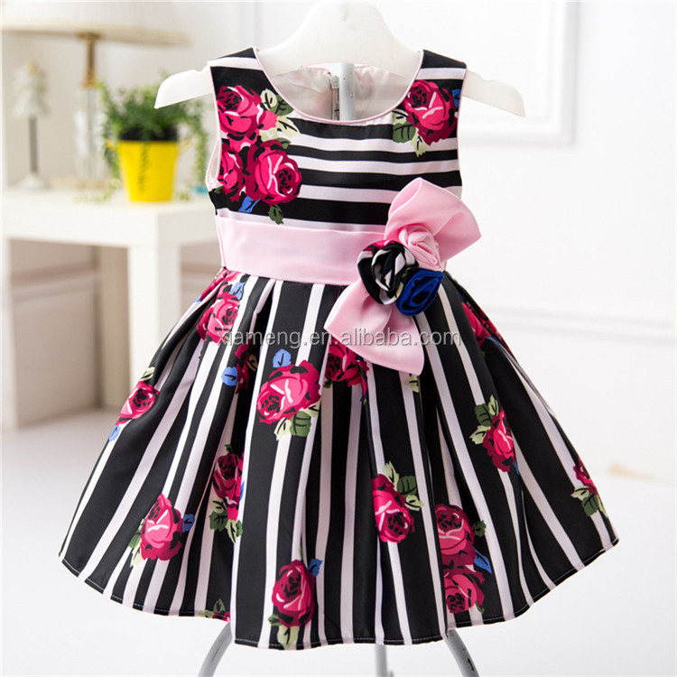 2016 China Alibaba wholesale latest summer 2 year old girl dress