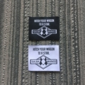 2019 Custom high quality clothing labels woven labels