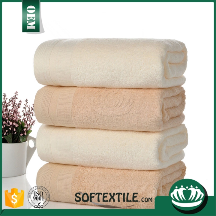 wholesale cheap china supplier gots certified organic cotton towels