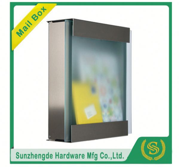 SMB-066SS America Popular Jinke Passward Commercial Aluminium Mailboxes For Sale