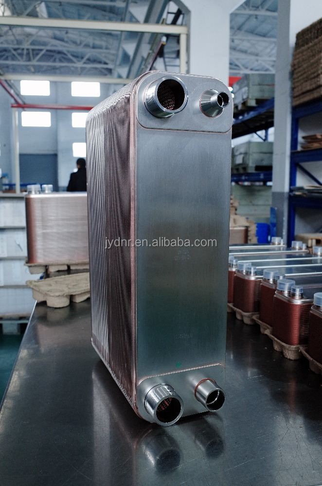 Refrigeration liquid cleaning heat transfer Brazed Plate Heat Exchanger Equipment