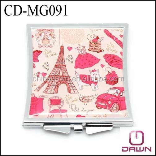 special shape compact mirror factory CD-MG091
