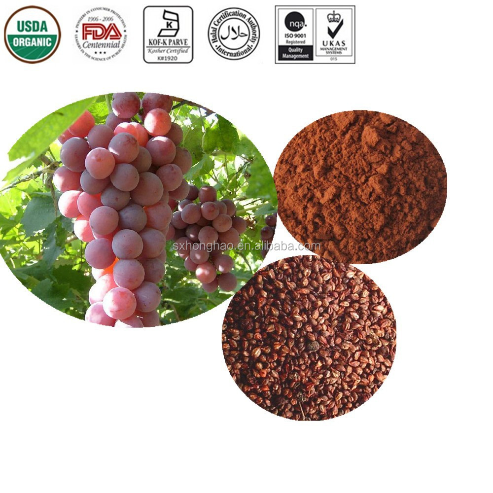 Natural Bulk Standardized grape seed extract proanthocyanidins